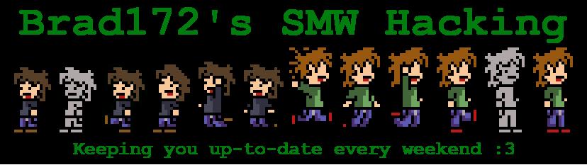 Brad172's SMW Hacking