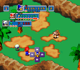 Yaki's Super Mario RPG Project