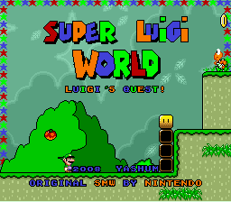 Super Luigi World: Luigi's Quest!