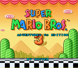 Super Mario Bros 3 Adventures C3 Release Summer 2014 Smw Central