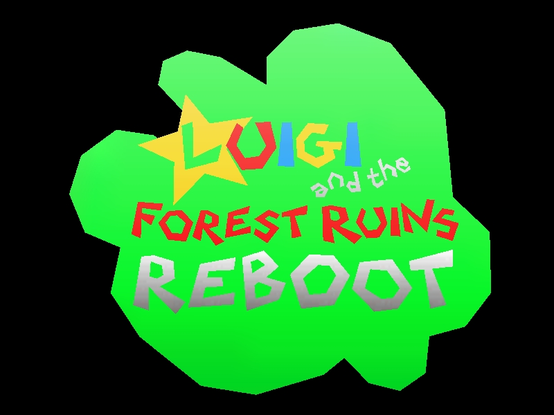 Rebooted Hack] Luigi and the Forest Ruins - Origami64
