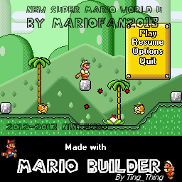 Mario builder new super mario world u official thread frozen world map screens gumiabroncs Images