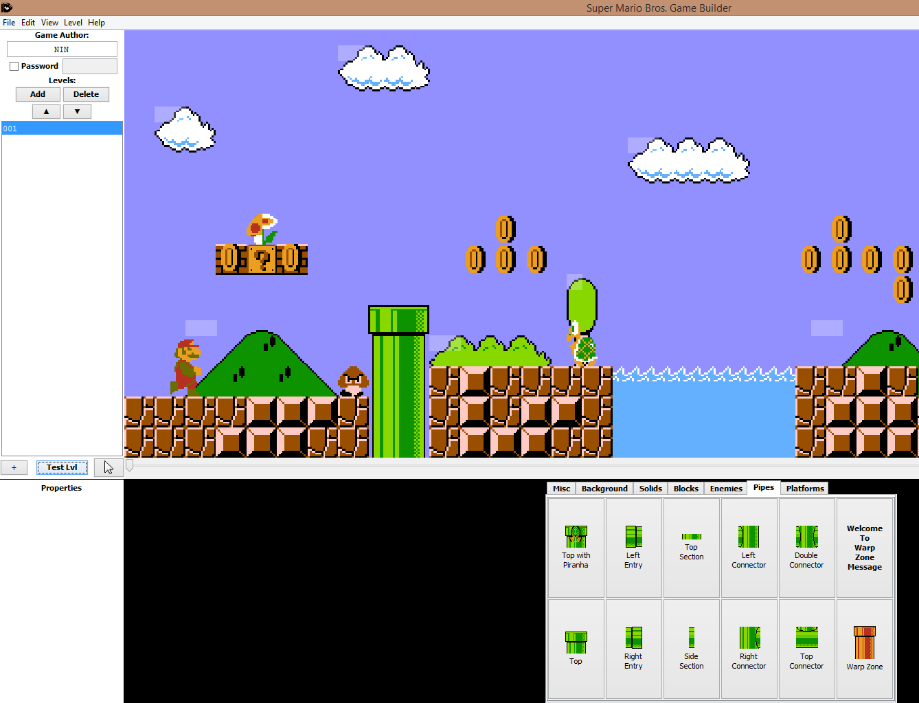 Super mario bros 1 level editor update its mario maker on the picture of the editor gumiabroncs Image collections