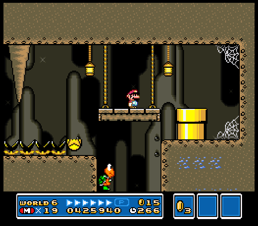New Super Mario World 1: The Twelve Magic Orbs - Super Mario