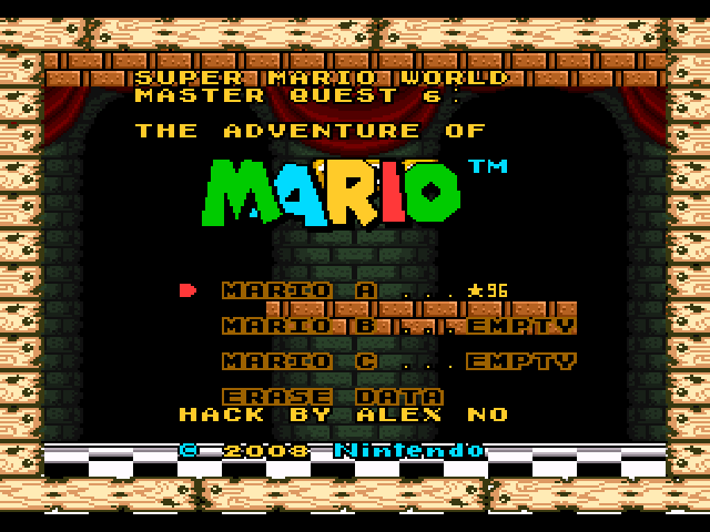 Elegant 100 E Super Mario World Master Quest 6.png ...