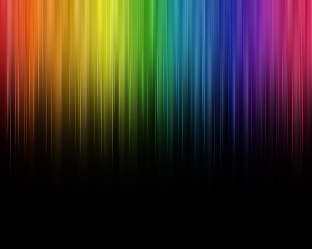 Abstract Rainbow Colors on bitmap index