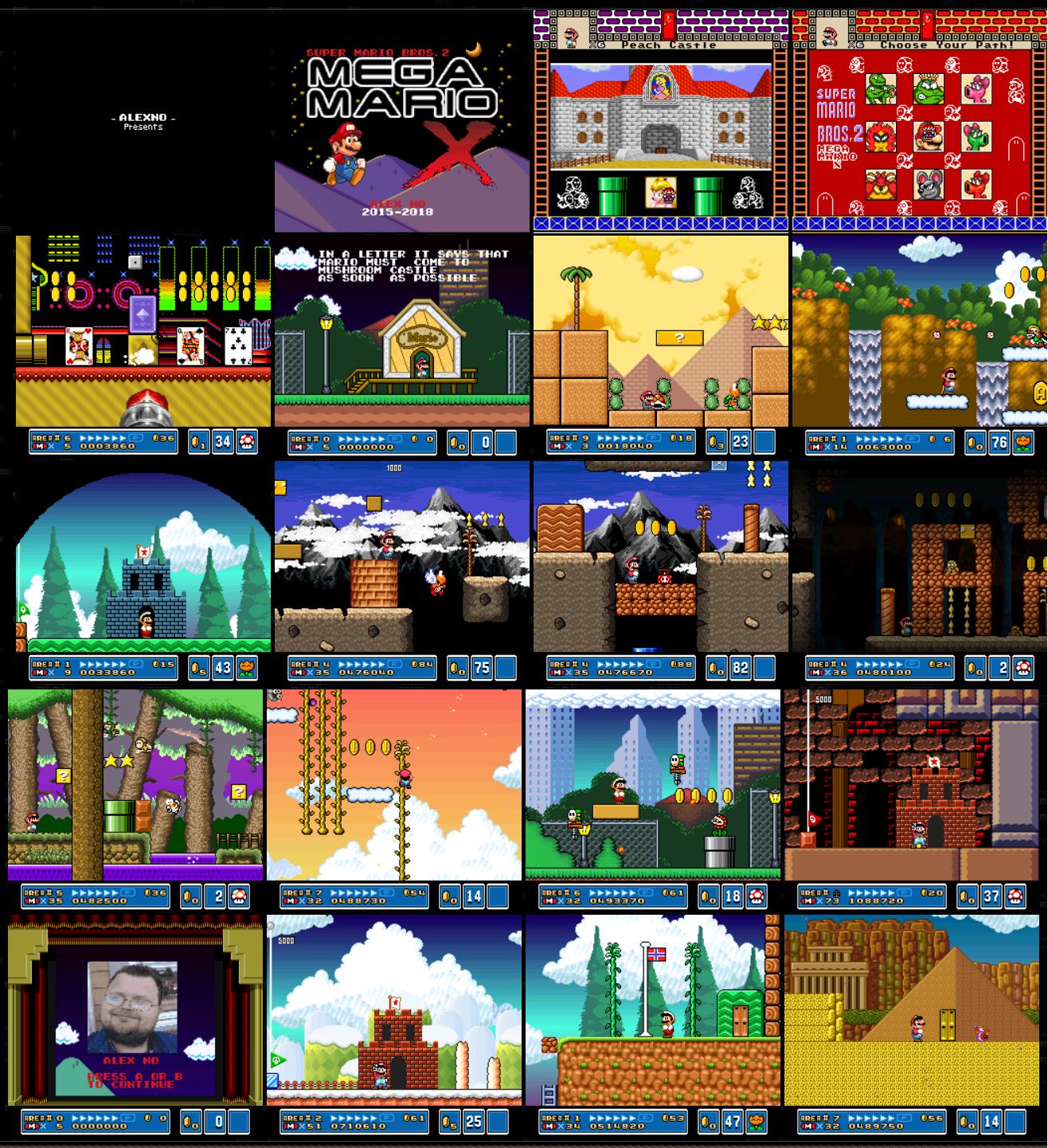 Super Mario Bros 2 Mega Mario X - Full Hack Releases - SMW